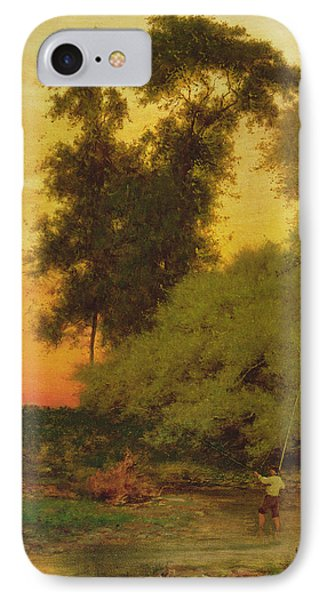 Sunset, Pompton, New Jersey IPhone Case by George Inness Snr
