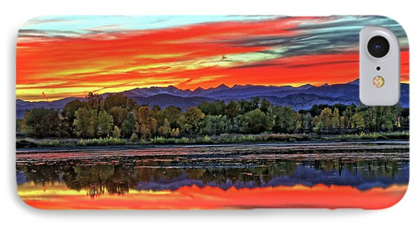 IPhone Case featuring the photograph Sunset Ponds by Scott Mahon