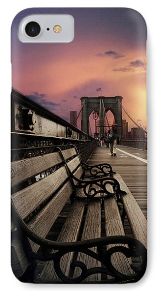 Sunset Promenade IPhone Case by Jessica Jenney