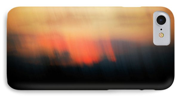 IPhone Case featuring the photograph Sunset Raining Down by Marilyn Hunt