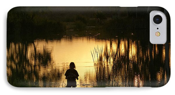 Sunset Reflections IPhone Case by Arik Baltinester
