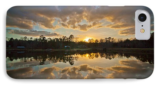 Sunset Reflections IPhone Case by Linda Unger