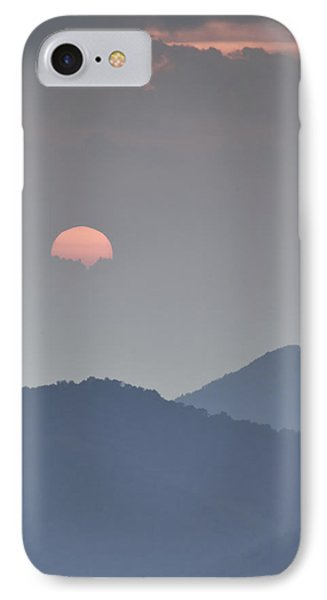 Sunset Repition - Blue Ridge Parkway Sunset Scene Phone Case by Rob Travis