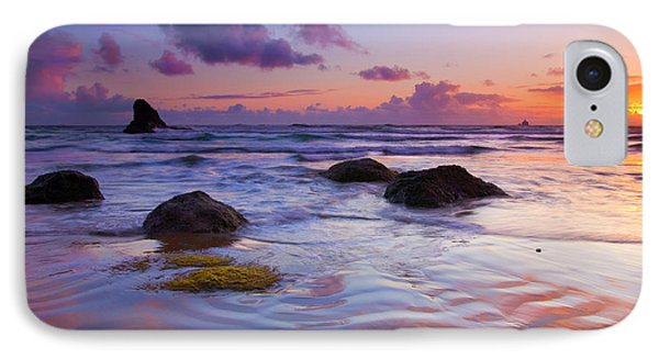 Sunset Ripples Phone Case by Mike  Dawson
