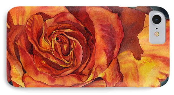Sunset Rose Phone Case by Leslie Redhead