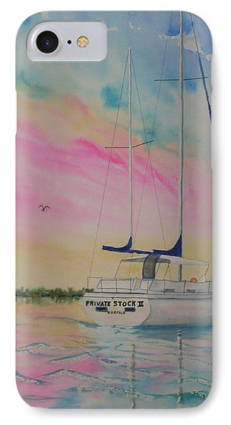 Sunset Sail 3 Phone Case by Warren Thompson