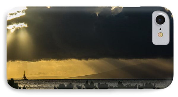 IPhone Case featuring the photograph Sunset Sail by Colleen Coccia