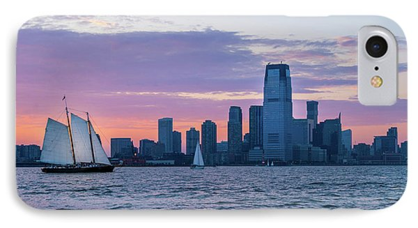 Sunset Sail - Hudson River IPhone Case by Frank Mari