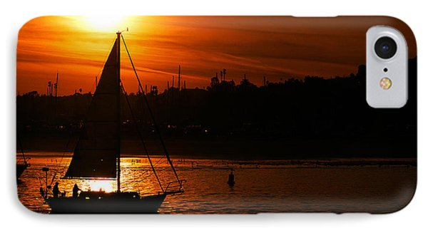 Sunset Sailing IPhone Case by Clayton Bruster