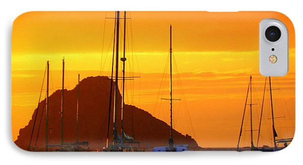 Sunset Sails Phone Case by Karen Wiles