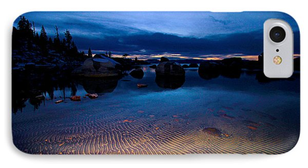 Sunset Sand Ripples IPhone Case by Sean Sarsfield