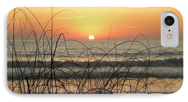 Sunset Sea Grass Phone Case by Sean Allen