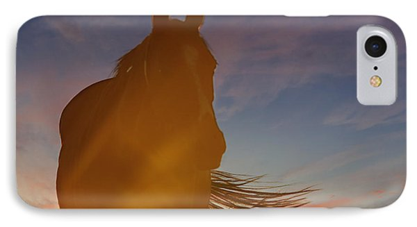 IPhone Case featuring the photograph Sunset Silhouette by Carol Lynn Coronios