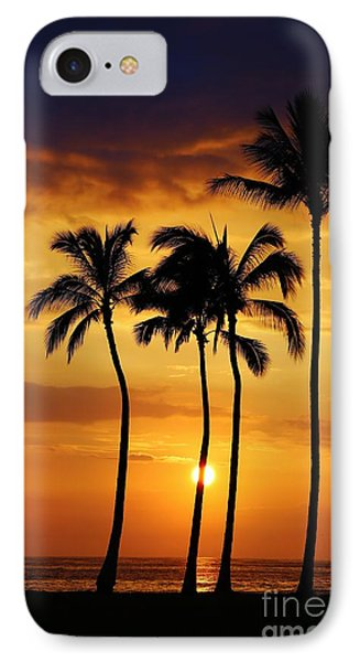 Sunset Silhouette IPhone Case by Craig Wood