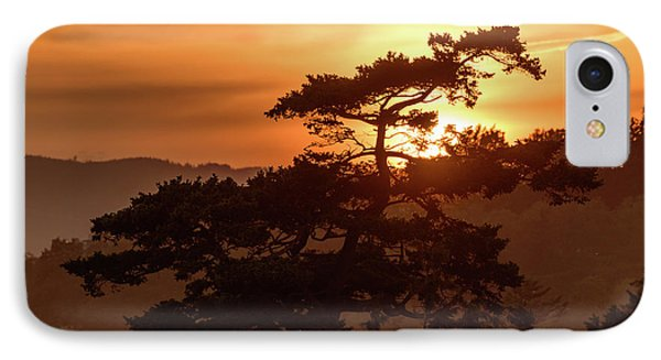 Sunset Silhouette IPhone Case by Keith Boone