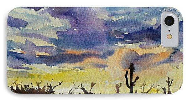 Sunset Sonora Phone Case by Xueling Zou