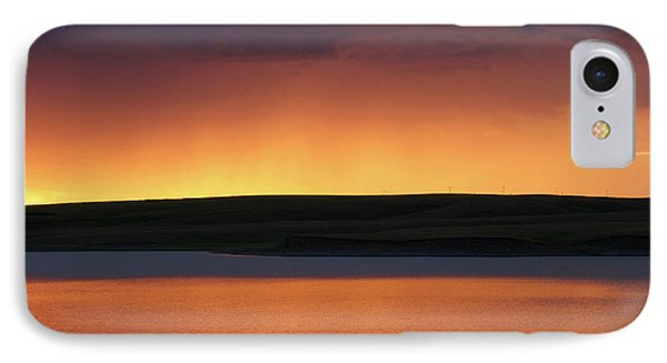 IPhone Case featuring the photograph Sunset Storm by Heidi Hermes