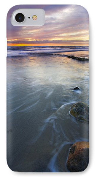 Sunset Storm Phone Case by Mike  Dawson