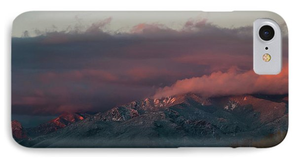 Sunset Storm On The Sangre De Cristos IPhone Case by Jason Coward