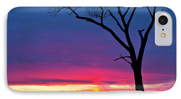Sunset Sundog  IPhone 7 Case by Ricky L Jones