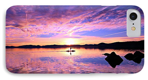 Sunset Supper IPhone Case by Sean Sarsfield