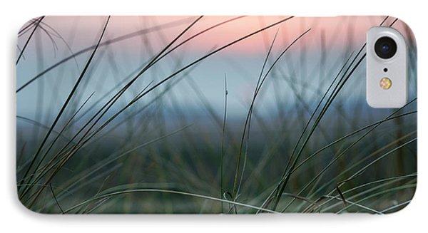 Sunset  Through The Marsh Grass IPhone Case