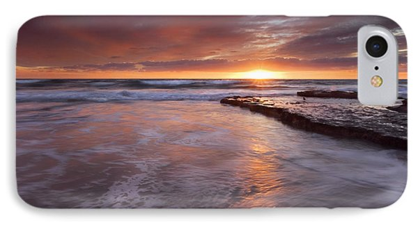 Sunset Tides Phone Case by Mike  Dawson