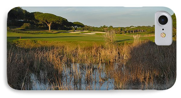 Sunset Time In Quinta Do Lago IPhone Case