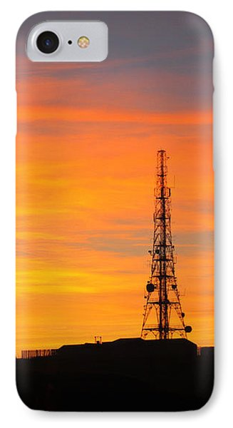 IPhone Case featuring the photograph Sunset Tower by RKAB Works