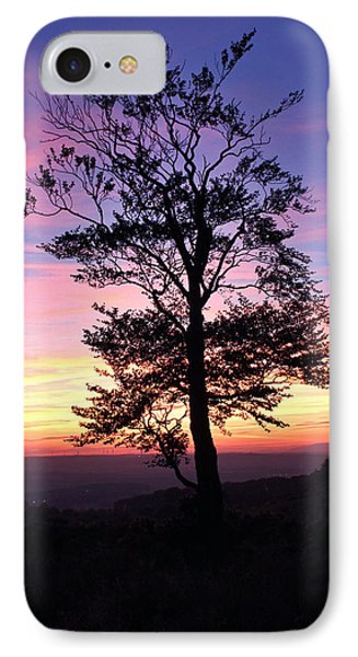 IPhone Case featuring the photograph Sunset Tree by RKAB Works