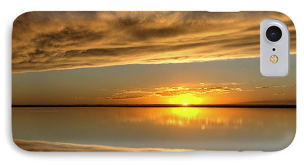 Sunset Under The Clouds IPhone Case by Rob Graham