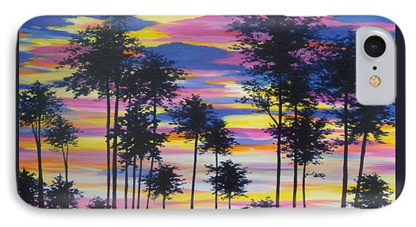 Sunset View IPhone Case by Anne Marie Brown