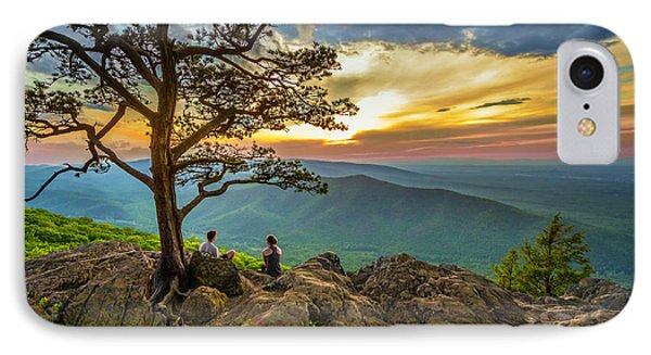 Sunset View At Ravens Roost IPhone Case