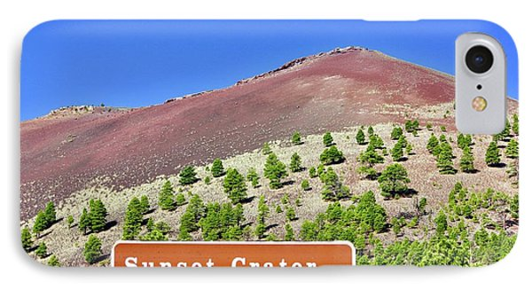 Sunset Crater Volcano IPhone Case