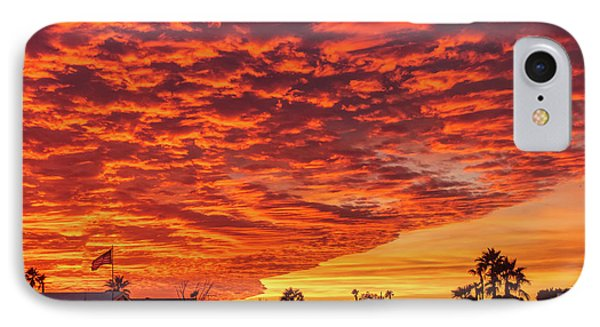 Sunset Wave IPhone Case by Robert Bales