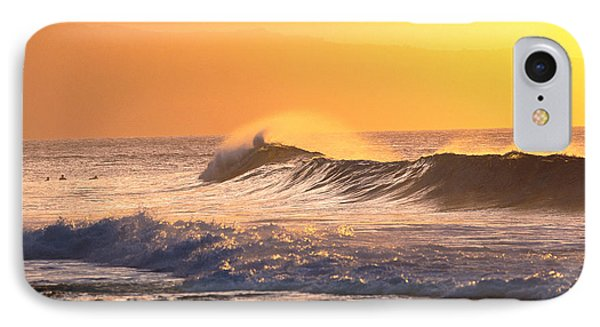 Sunset Wave IPhone Case by Vince Cavataio - Printscapes