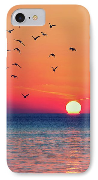 Sunset Wishes IPhone Case