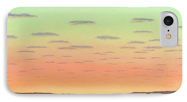 Sunset With Wildflowers IPhone Case by James W Johnson