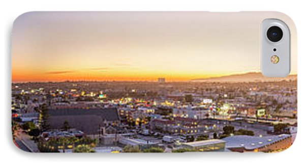 Glowing Sunset Culver City IPhone Case by Kelley King