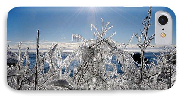 Sunshine And Ice IPhone Case by Sandra Updyke
