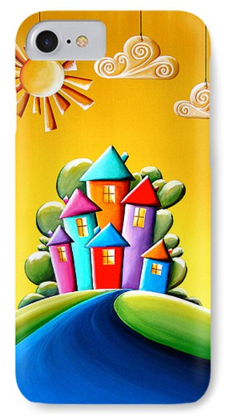 Sunshine Day IPhone Case by Cindy Thornton