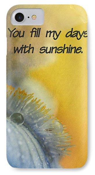 Sunshine IPhone Case by Elena E Giorgi