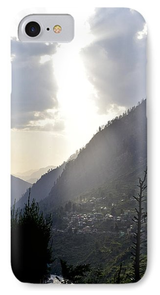 Sunshine On The Village IPhone Case by Sumit Mehndiratta