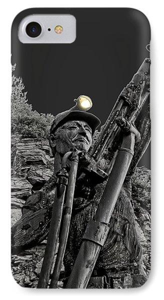 Sunshine Silver Mine Memorial - Kellogg Idaho Phone Case by Daniel Hagerman
