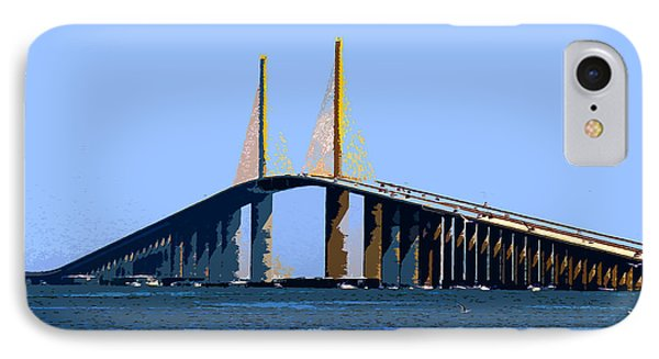 Sunshine Skyway Summer IPhone Case by David Lee Thompson