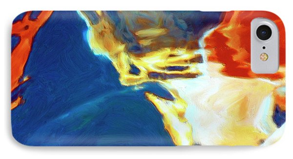 IPhone Case featuring the painting Sunspot by Dominic Piperata