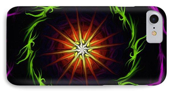 Sunstar IPhone Case by Jennifer Galbraith