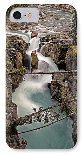 Sunwapta Falls IPhone Case by John Gilbert