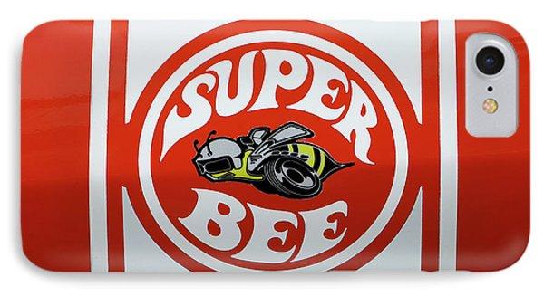 Super Bee Emblem IPhone Case by Mike McGlothlen