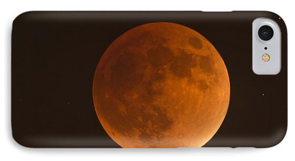 Super Blood Moon IPhone Case by Loriannah Hespe
